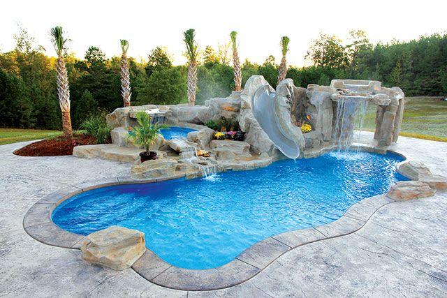 Courtesy Viking Pools Backyard Pool Designs Swimming