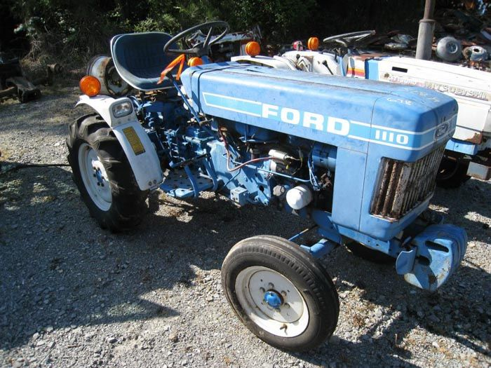 This Tractor Has Been Dismantled For Ford 1100 Tractor Parts