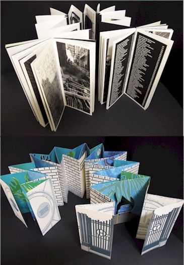 Artists' books by Maria G. Pisano