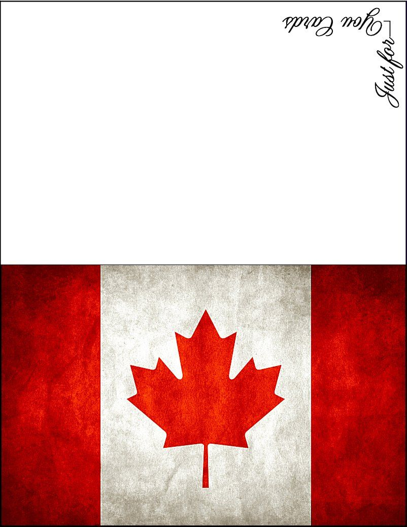 photograph about Printable Canadian Flag titled Canadian Flag patriotic card . no cost in direction of hire \u003c3 Canada