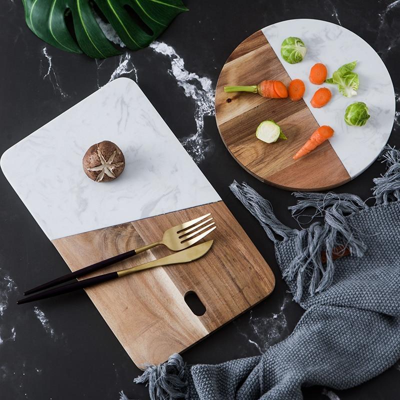 Wood Amp Stone Cheese Board Wood Cheese Board Marble Wood
