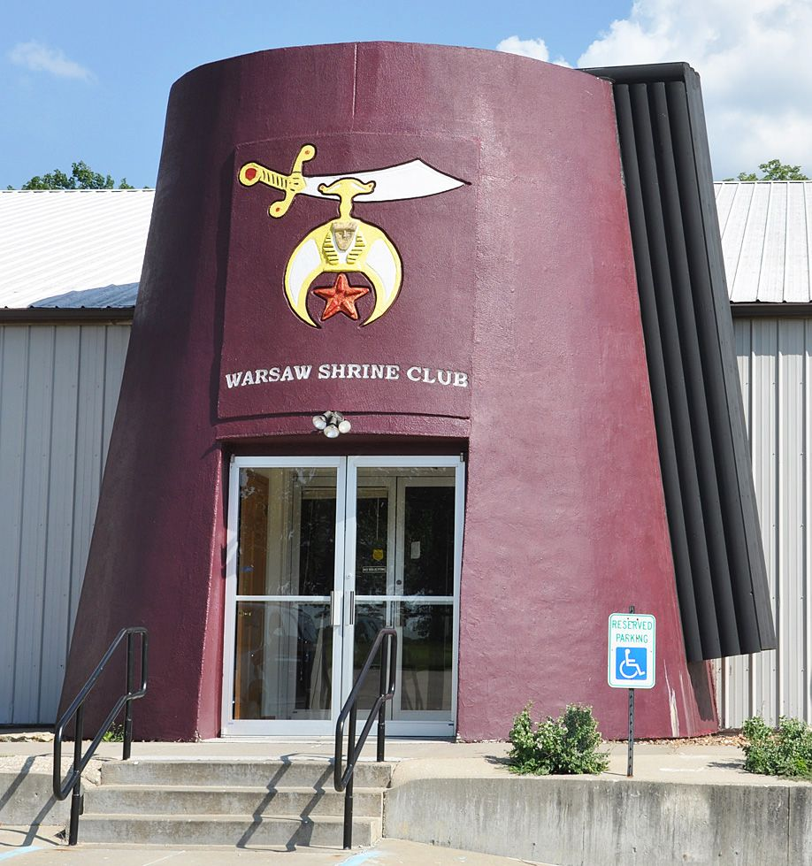 Strange Conspiracies Facebook Zynga And The Freemason: A GIANT Fez For The Masonic Group Of Shriners In Warsaw