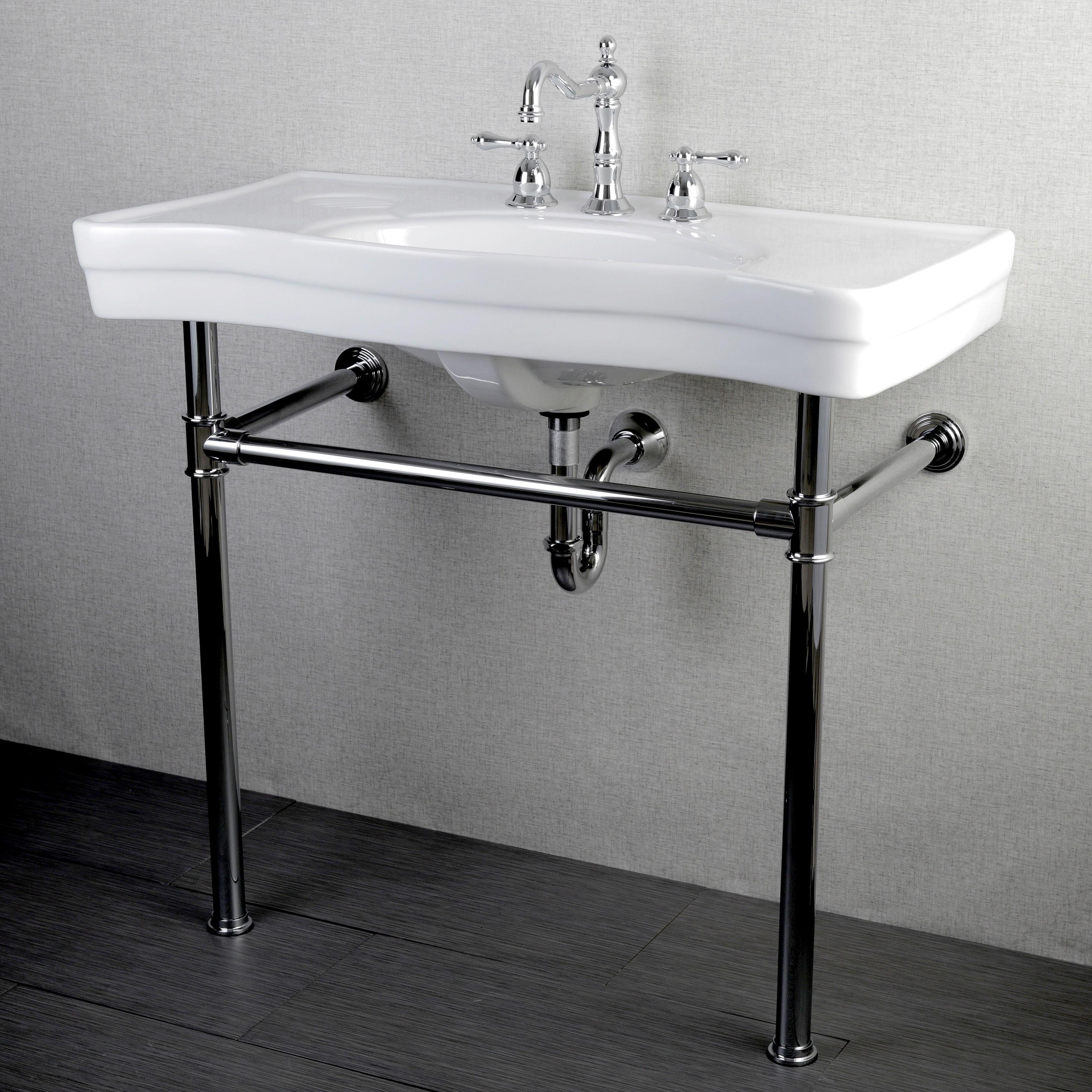 Single Bathroom Vanity With Vessel Sink