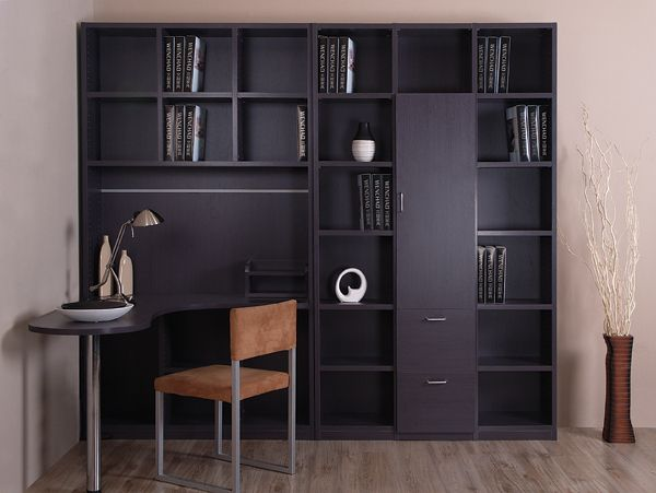 Furniture Customize Stepelectromotor Computer Desk Bookcase Bookshelf Combination Storage Cabinet 04 Us 592 66