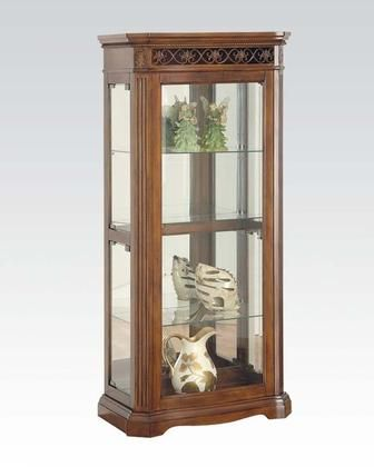 "Alden Collection 90060 28"" Curio with Glass Door"