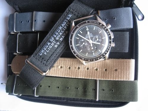 Speedmaster on different NATOs - and a greeting! (71373)