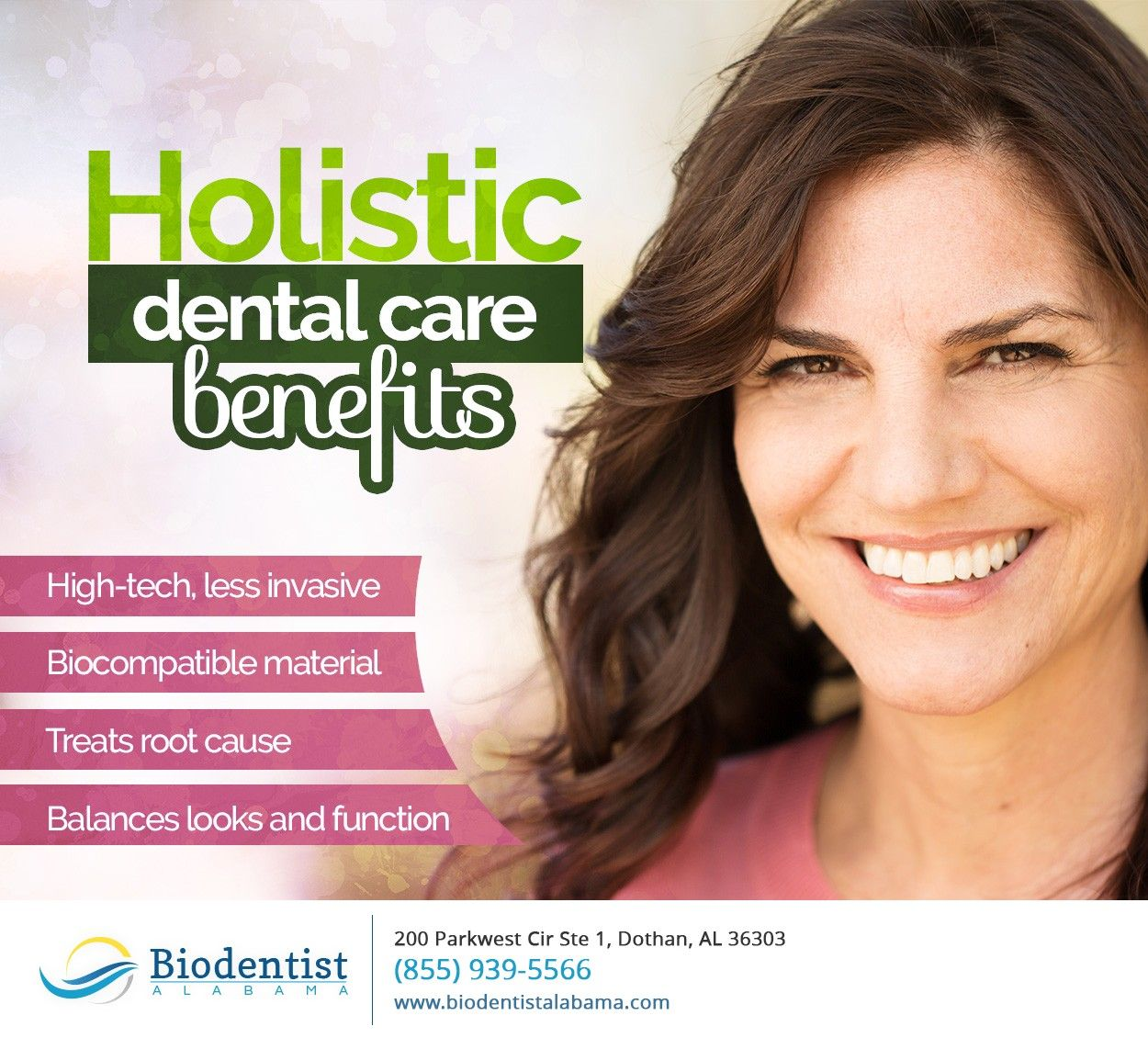 We take a holistic approach to dental care, focusing on