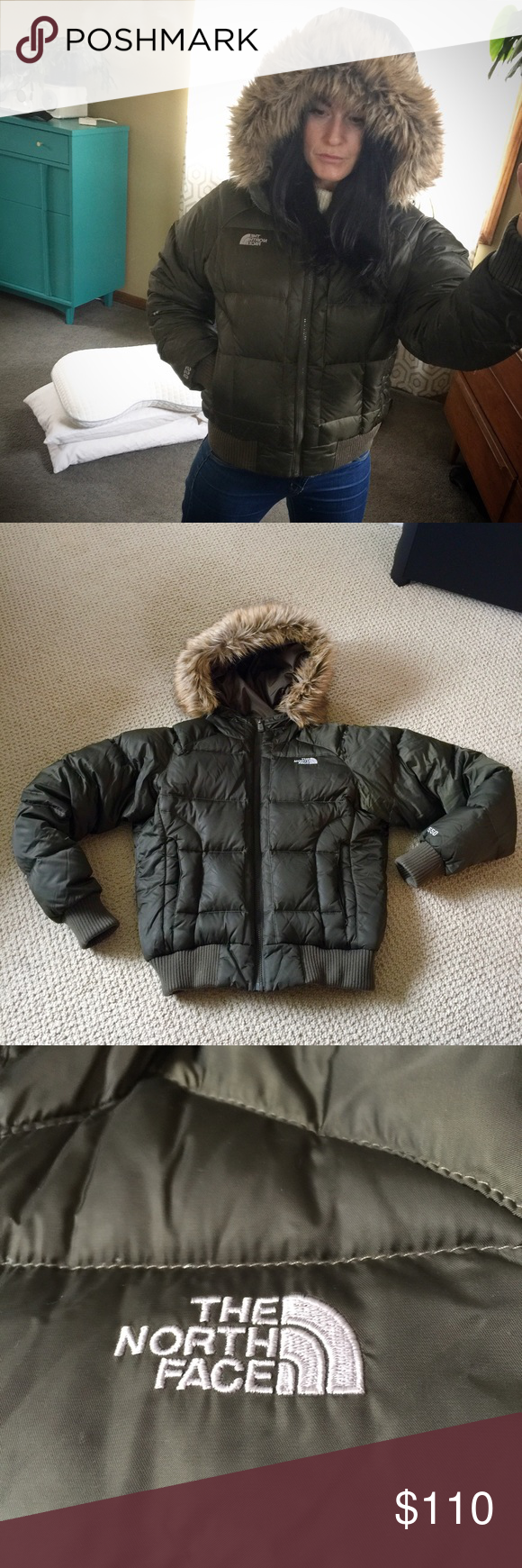 The North Face Fur Hooded 550 Puffer Jacket Puffer Jackets The North Face Jackets [ 1740 x 580 Pixel ]