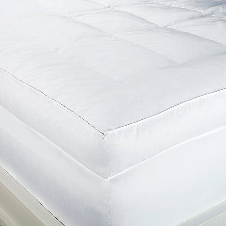 Concierge Collection 6 Featherbed At Hsn Com Mattress Bed Mattress Feather Bed