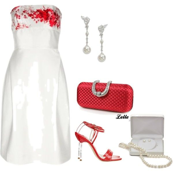 """Marchesa"" by lellelelle on Polyvore"