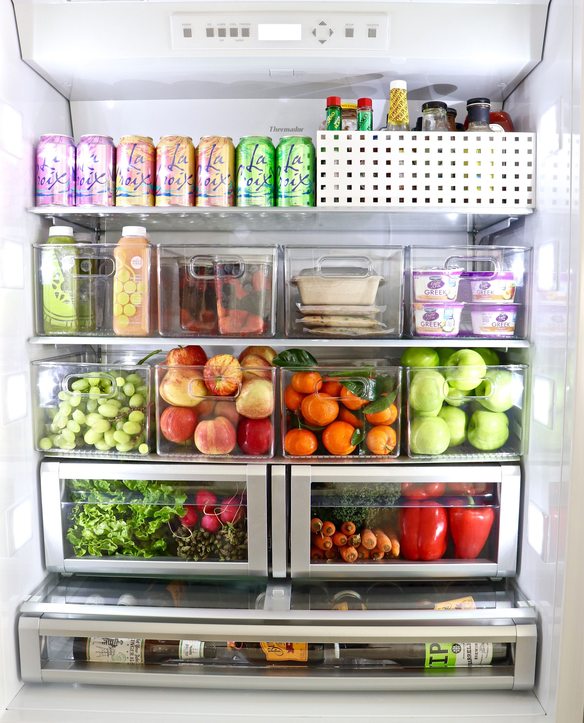 10 Tips To Organize Your Refrigerator With Inspiring Before After Photos Kitchen Organization Fridge Organization Refrigerator Organization