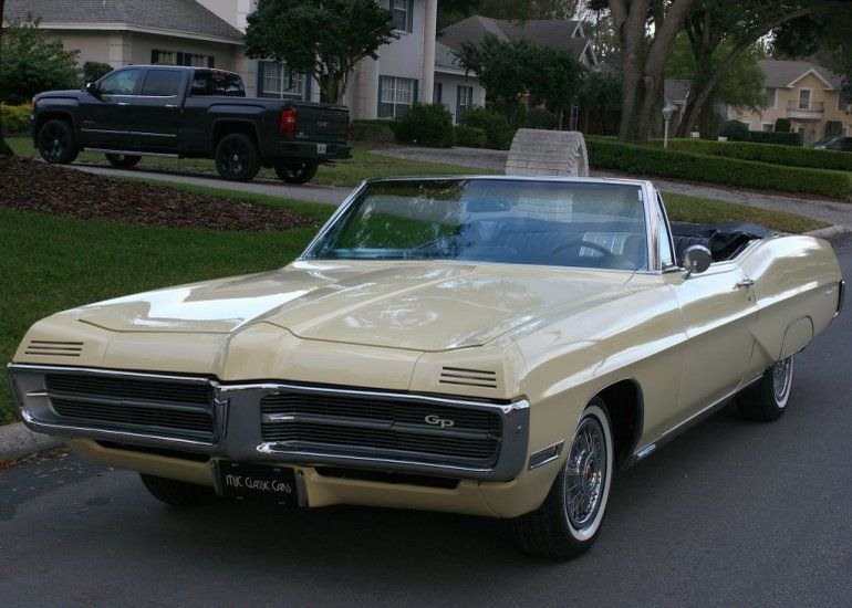 1967 Pontiac Grand Prix Convertible Gto