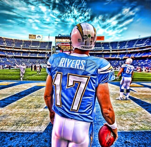 Philip Rivers 17 San Diego Chargers Chargers Football Cheerleading Pictures