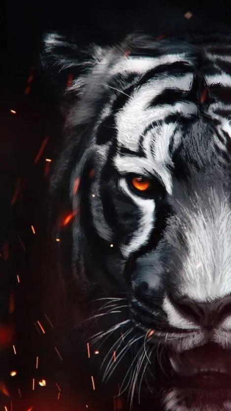 the tiger art iphone wallpaper free free pik psd tiger art tiger artwork big cats art pinterest