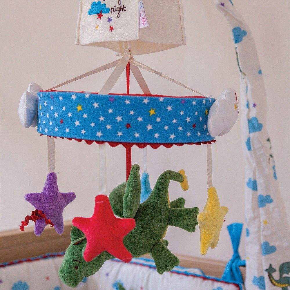 B toys carousel bells  Pink Lining Musical Cot Mobile One Starry Night  Kids  Pinterest