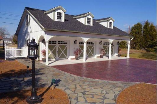 Large Door Garage - Home and Garden Design Idea's