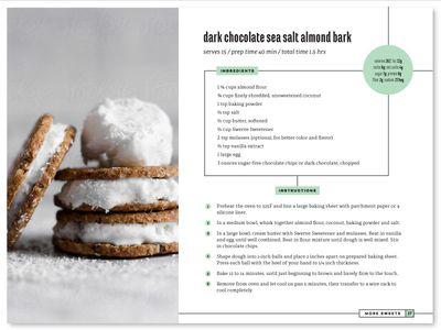 ebook recipe layout graphic