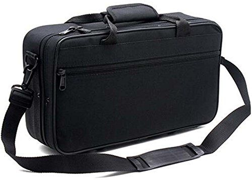 Tosnail 600D Waterresistant Foam Cotton Padded Clarinet Case Clarinet Gig Bag