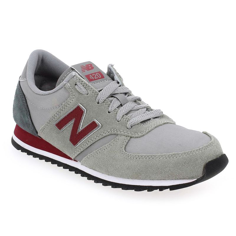 new balance gris et bordeau