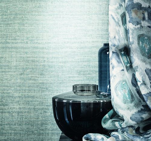 Azuli. Wallpaper collection Casamance by Benedetti | Wallpaper and ...