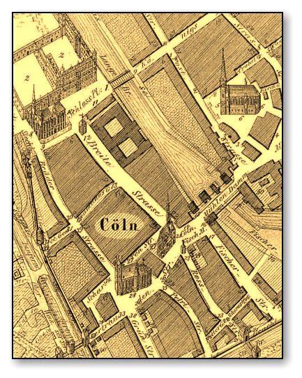 Berlin Die Breitestrasse Im 17 Jahrhundert 1640 Links Oben Dominikanerkirche Und Schloss Berlin Geschichte Berlin Karte Jahrhundert
