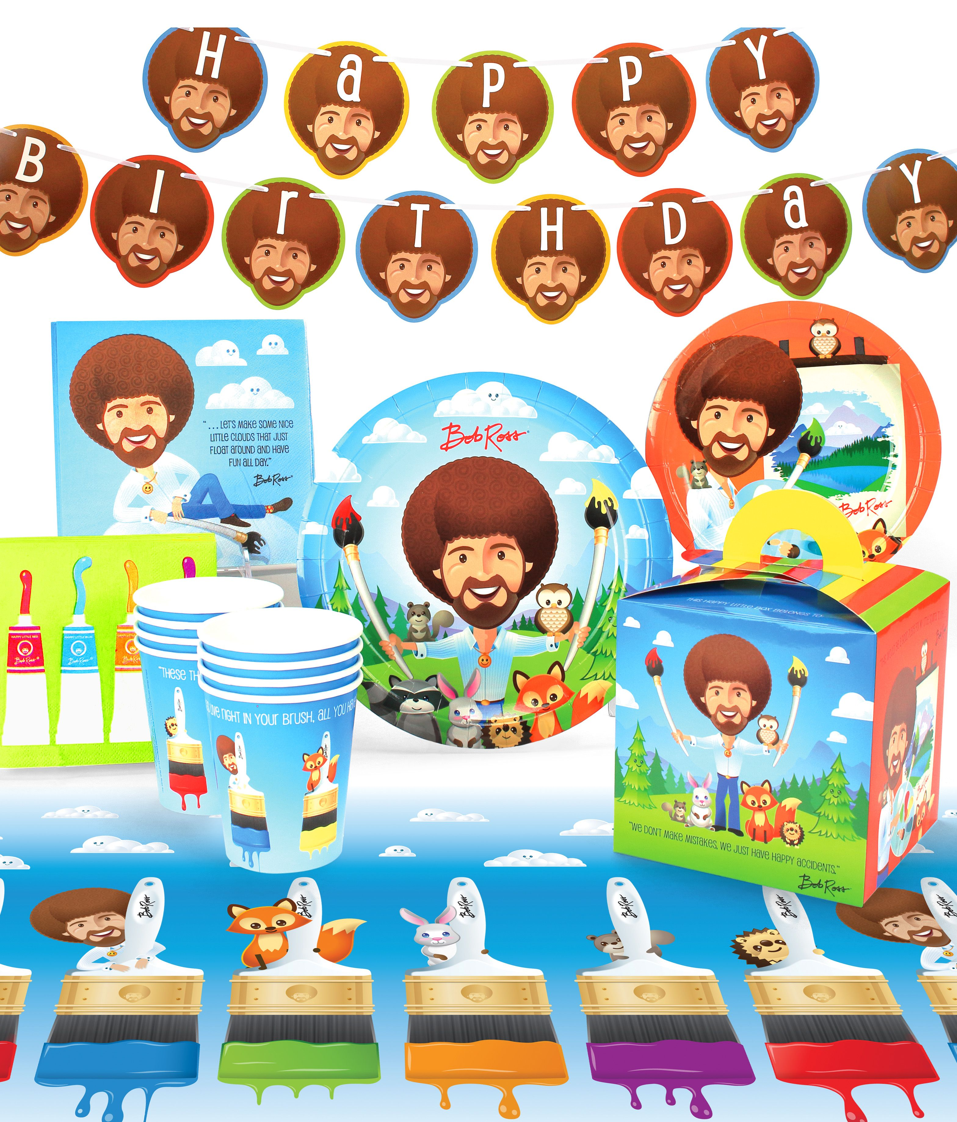 OMB! Bob Ross and Friends, Illustrated Birthday is THE
