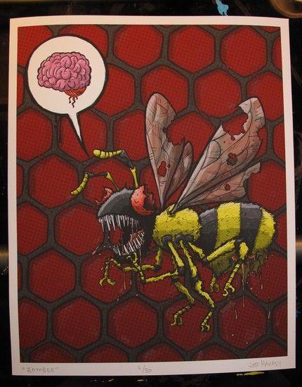 """""""zom-bee"""""""