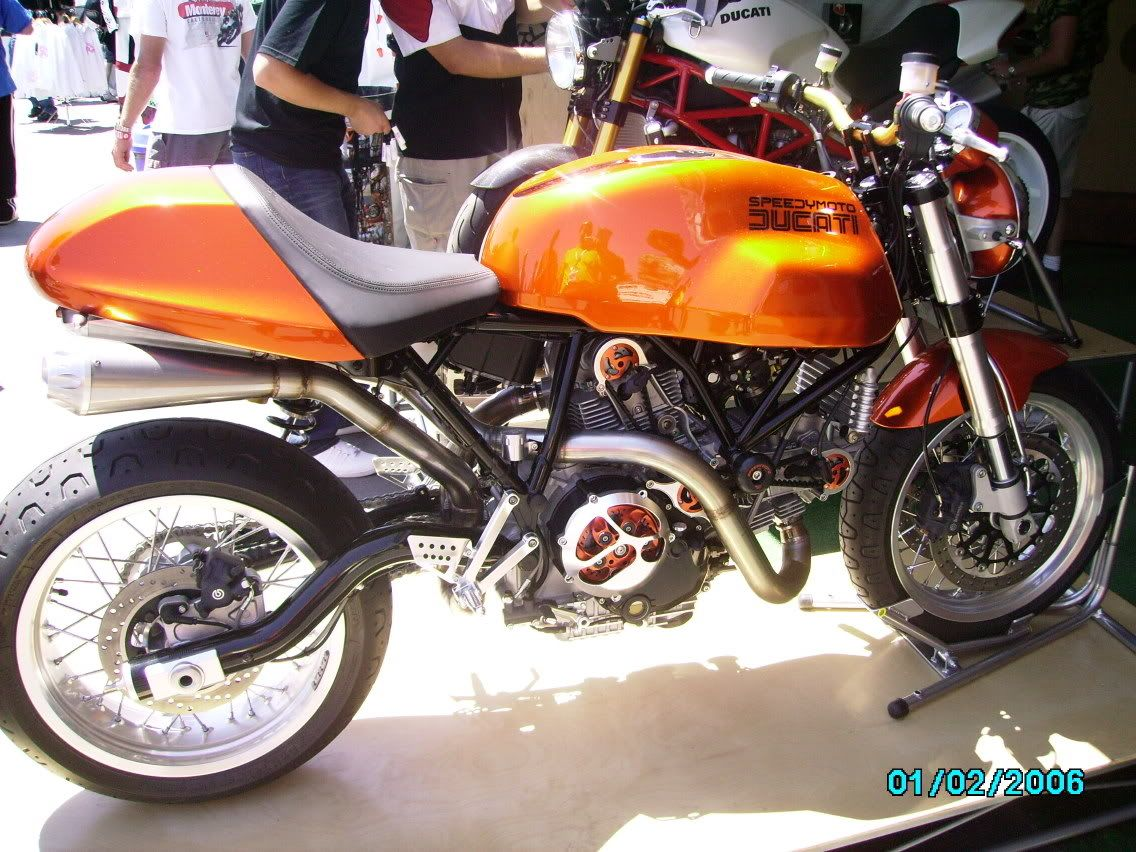 Euro brit motorcycle