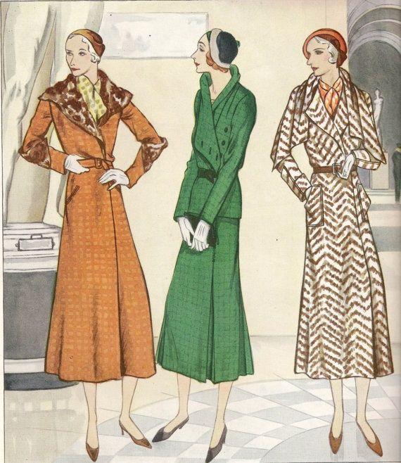 Pin von Vassiliki Tomaras auf 1930\'s Fashion | Pinterest
