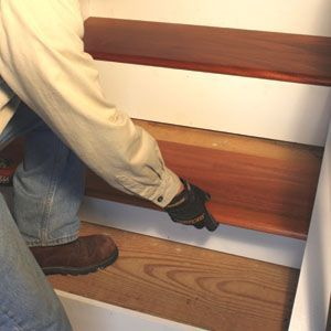 Best How To Install Prefinished Stair Treads Stairwell 640 x 480
