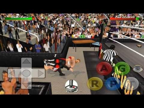 Wrestling Revolution 3D - Sami Zayn & Kevin Owens vs  Ian