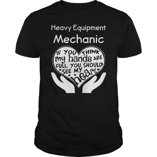 Heavy Equipment Mechanic LIMITED TIME ONLY. ORDER NOW if you like, Item Not Sold Anywhere Else. Amazing for you or gift for your family members and your friends. Thank you! #equipments