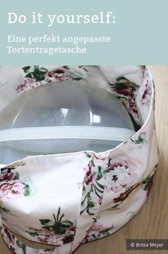 Do it yourself: Tortentragetasche