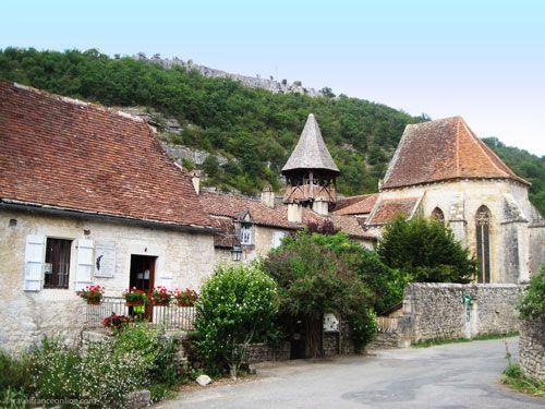 Ste Eulalie d'Espagnac Priory #Lot #France #Quercy www.travelfranceonline.com