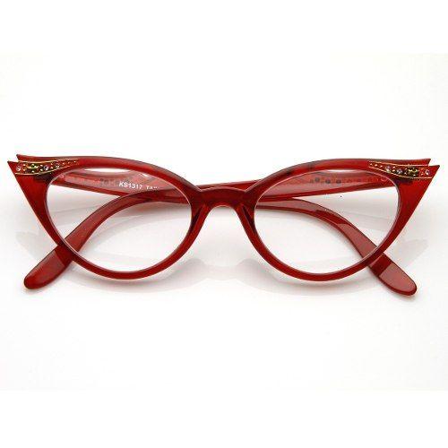 e oculos de grau gatinha vermelho - Google Search   drica`s style ... 91d5f56754