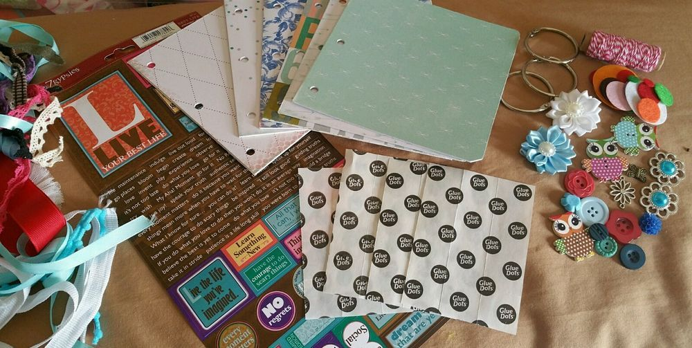 TPHH Chipboard Scrapbook Album Kit by detailed4u in Crafts, Scrapbooking & Paper Crafts, Embellishments | eBay