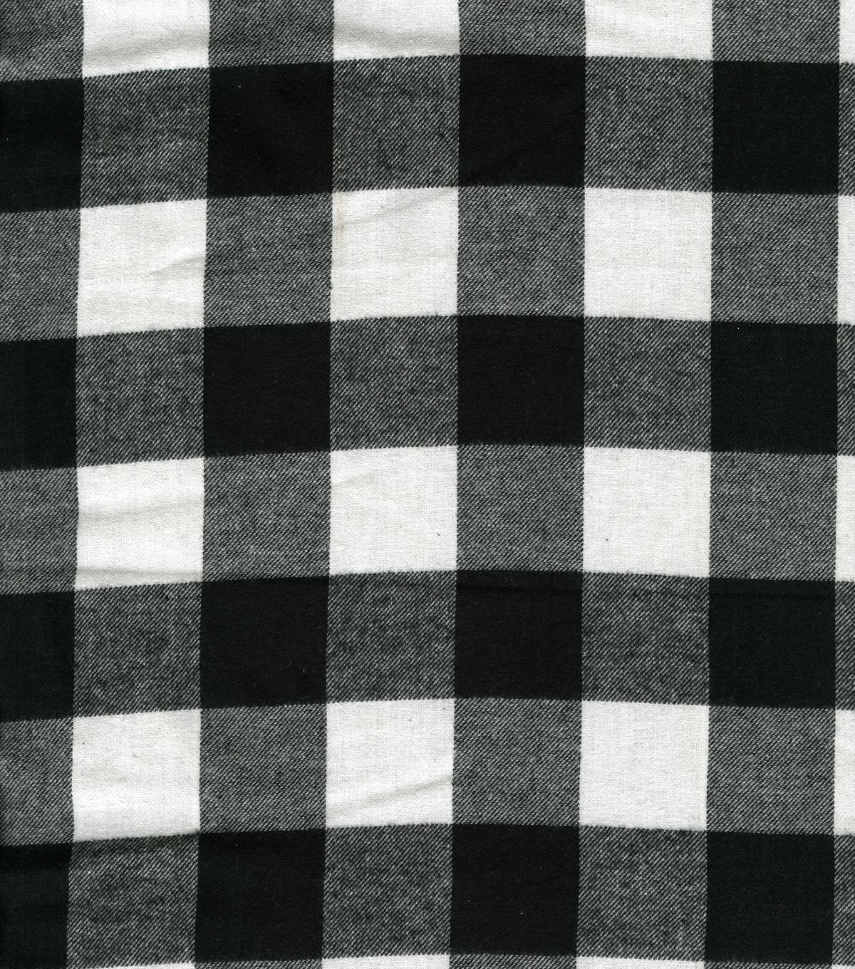 Plaid fleece fabric buffalo plaid black u whiteplaid fleece fabric
