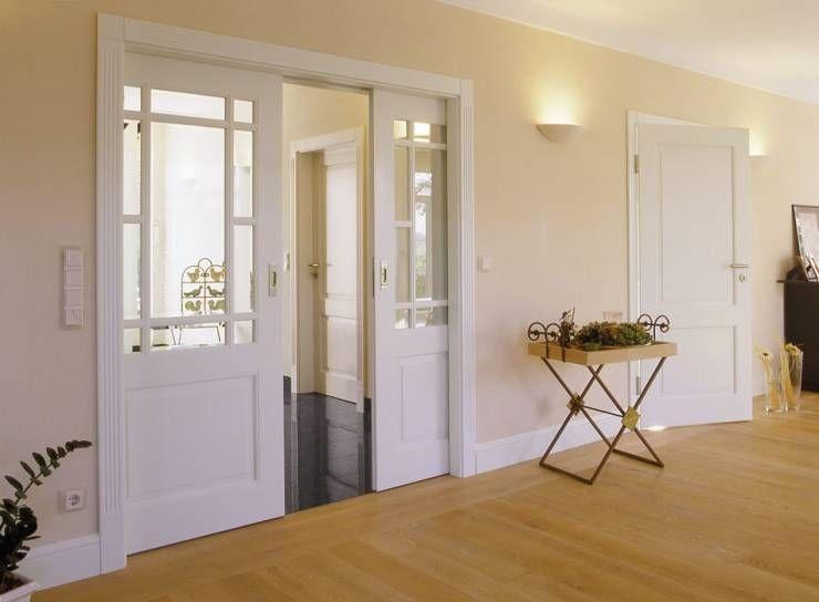 Unterschiedliche Schiebetüren Landhausstil, Landhäuser und Klassisch - moderner landhausstil wohnzimmer