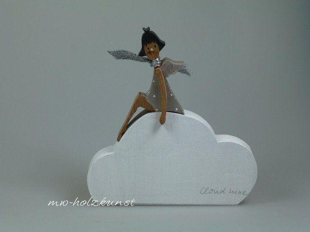 Holzfigur - Engel auf Wolke 7 Products, Oder and Nine d\u0027urso - ballerina küchen preise