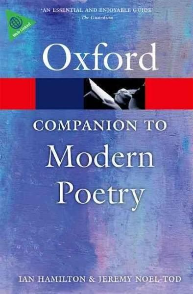 The Oxford Companion To Modern Poetry Paperback Overstock Com Shopping The Best Deals On Poetry Modern Poetry Poetry National Poetry Month