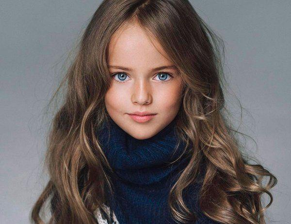 Bambina Top Model A 10 Anni Kristina Pimenova La Ragazza