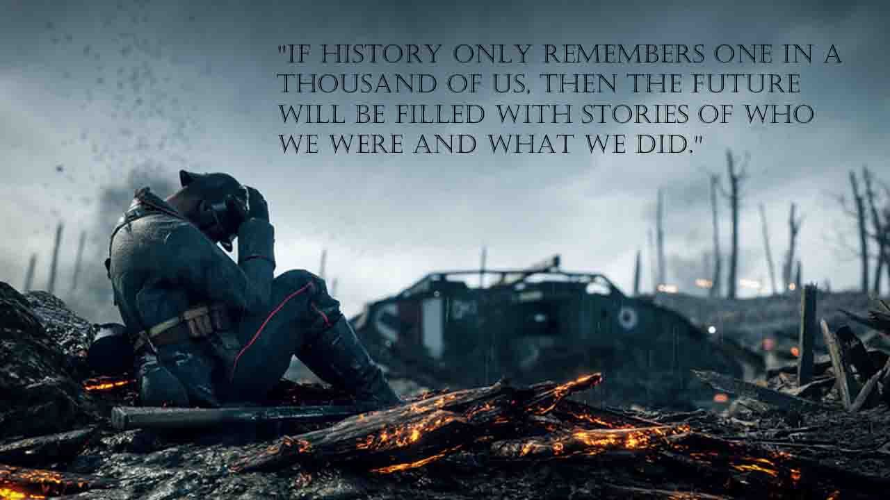The Best Video Game Quotes Of All Time Softonic Video Game Quotes Game Quotes Battlefield 1