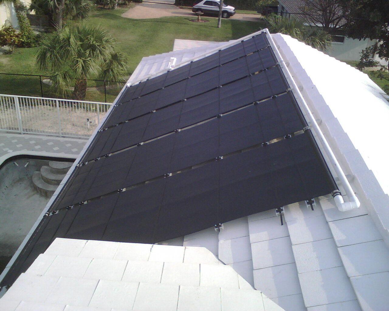 Vortex Solar Pool Heater Roof Rack Www