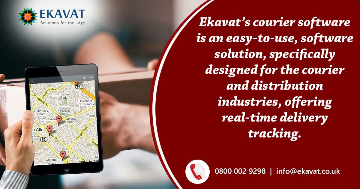For Further Information About This Courier Service Software To