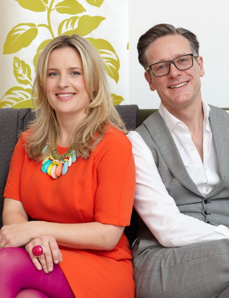 Sophie Robinson And Daniel Hopwood At The Great Interior Design
