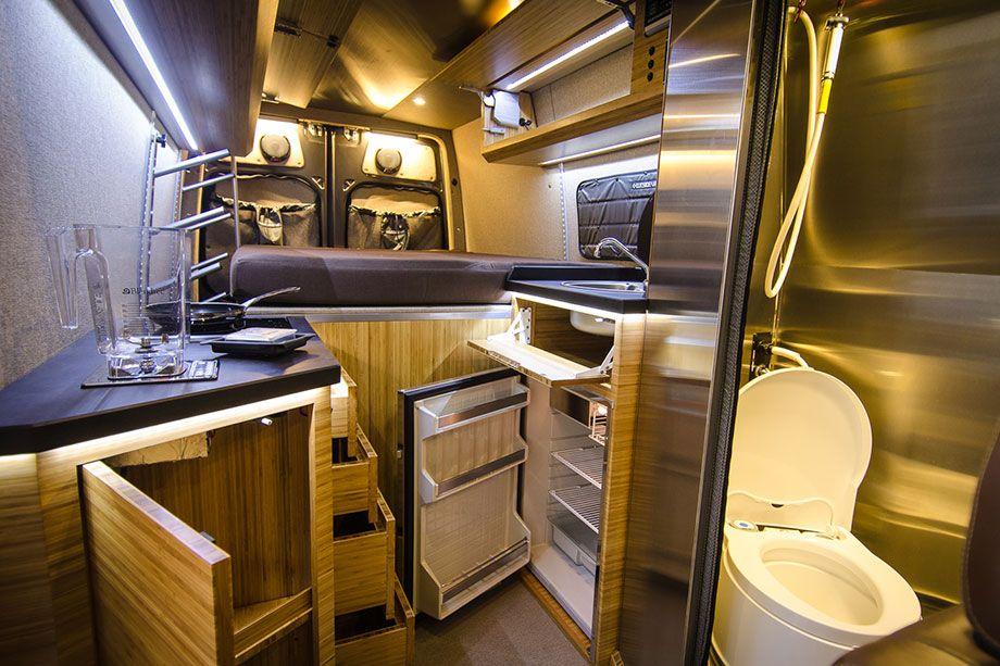 Brown Pow Outside Van Van Interior Camper Van Best Campervan
