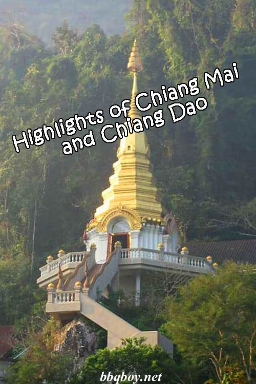 Chiang Mai is a popular place. Chiang Dao is mostly unknown, a small town surrounded by natural highlights. This post explores the highlights of both Chiang Mai and Chiang Dao #bbqboy #ChiangMai #ChiangDao #Thailand #travel