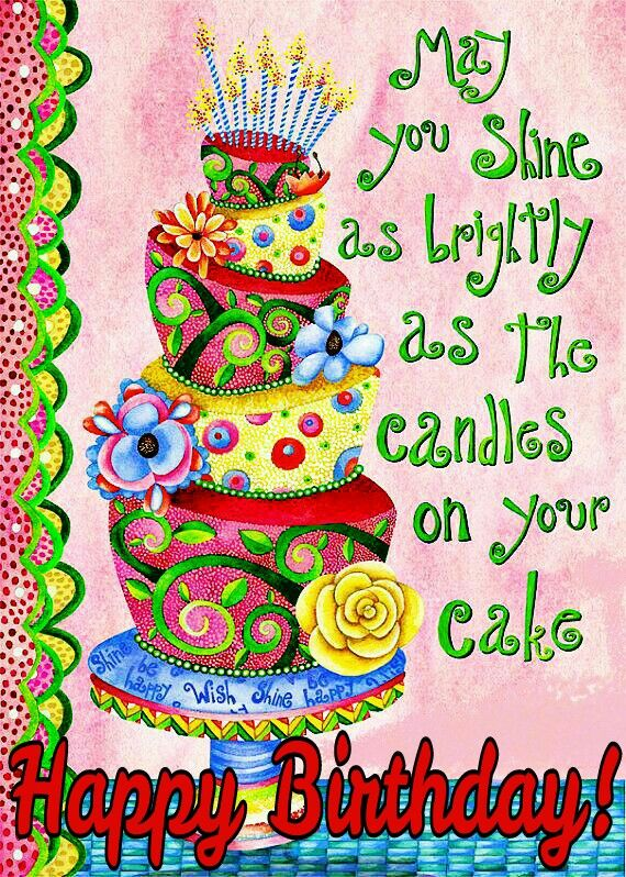 """Leanin' Tree """"Hope All Your..."""" Birthday Card"""
