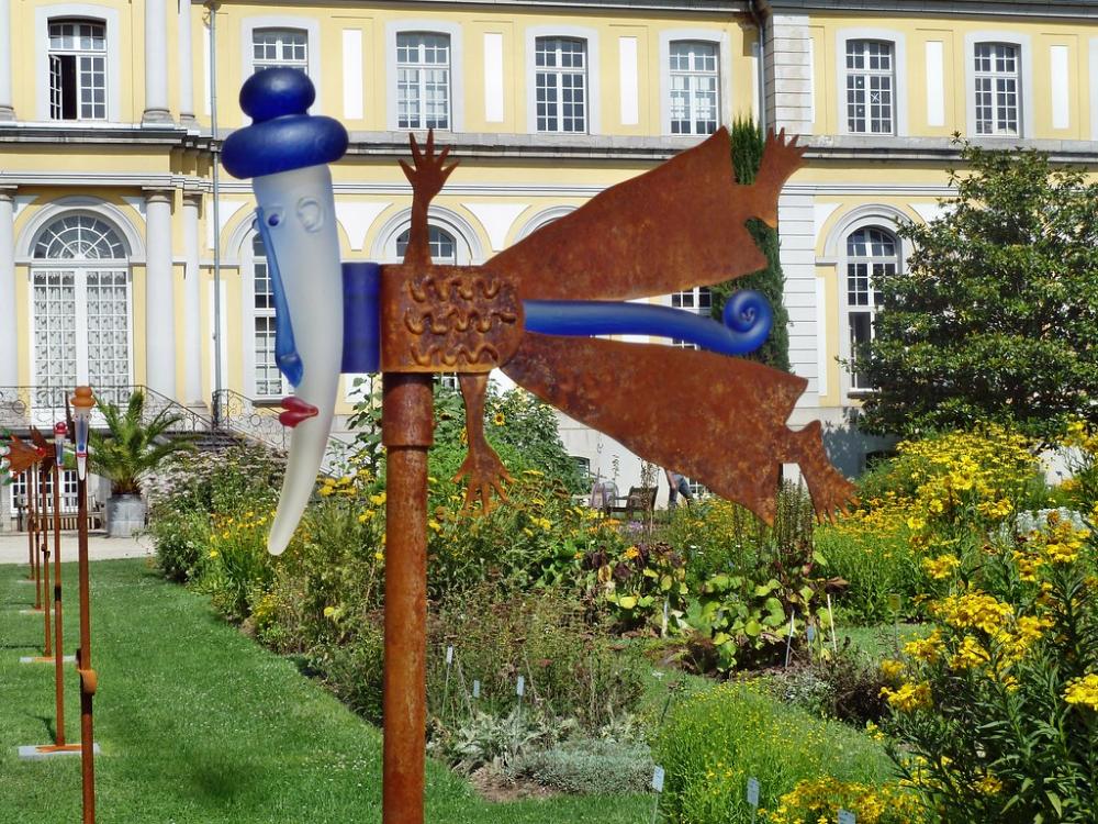 Bonn Botanischen Garten Im Botanischen Garten In Bonn Ein Glasobjekt Von Boroswki Flickr Bonn Garten Event
