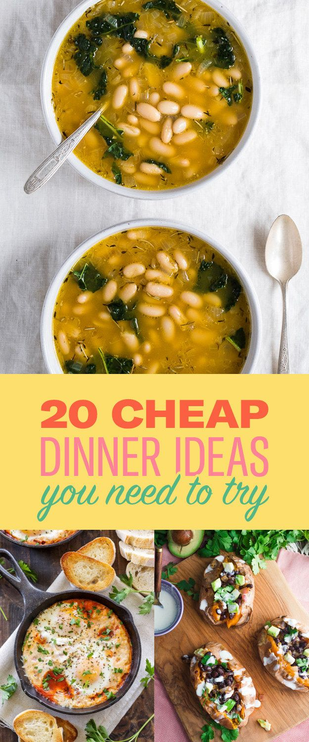 20 cheap dinner ideas that won't break the bank in 2018 | food